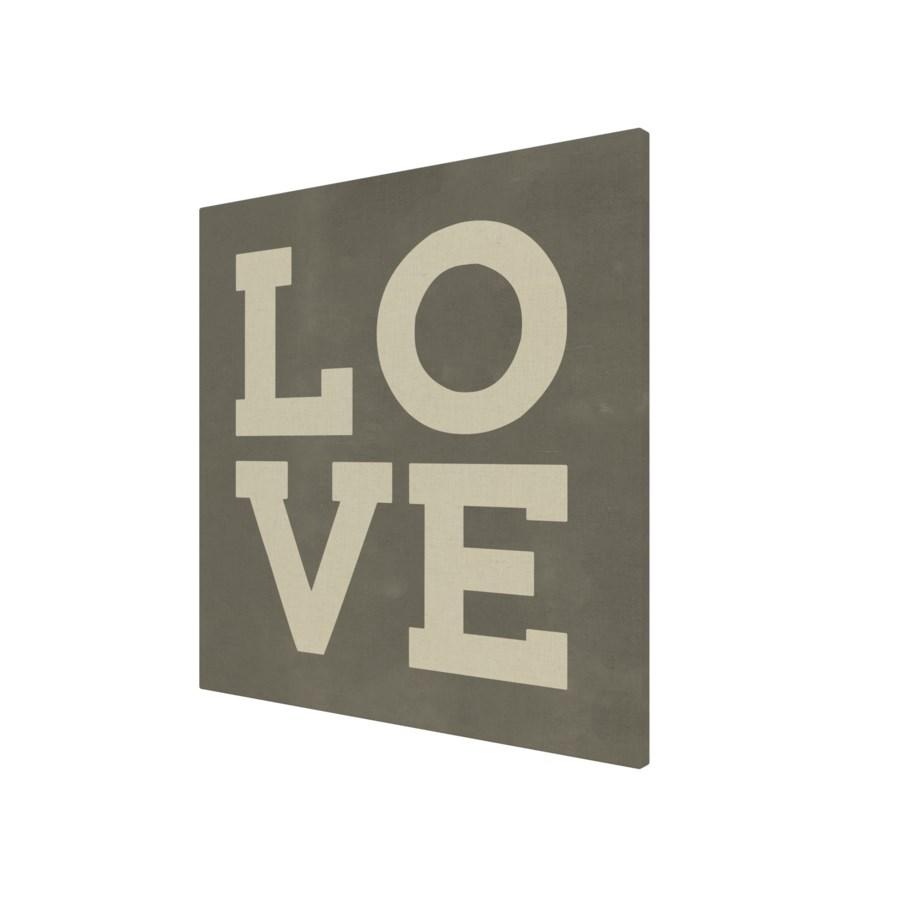 Love on chalk background