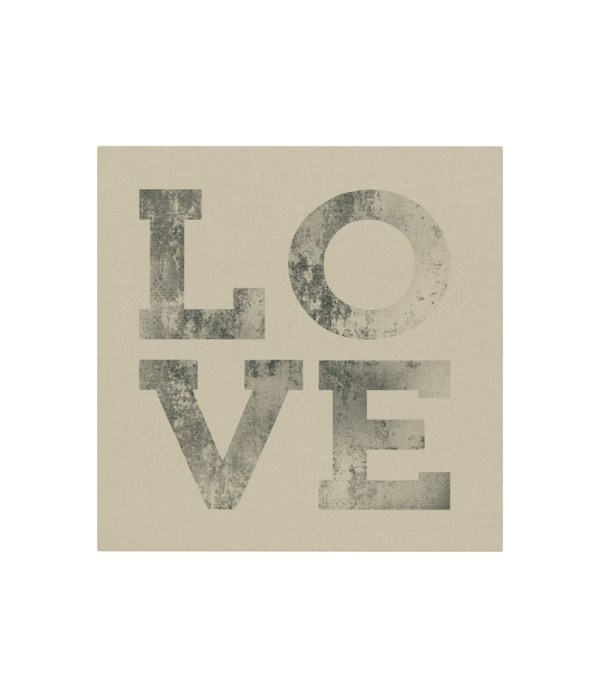 Love with vintage lettering