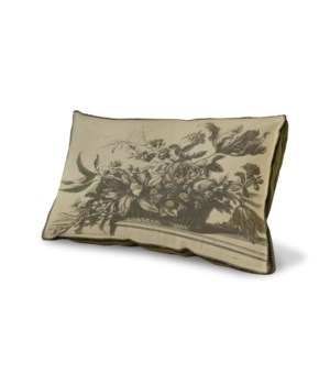 Flower Basket pillow