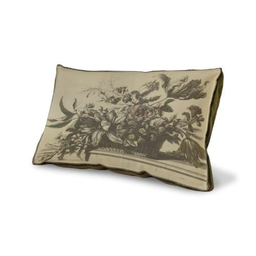 Flower Basket pillow