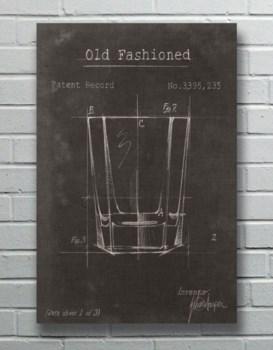 Old Fashion Bar Glass- Fashion and Entertainment