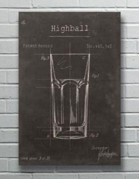 High Ball Bar Glass-Fashion and Entertainment