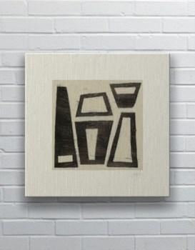 Hieroglyph VII-Abstract