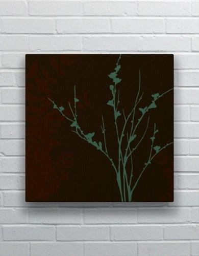 Blue Bough I-Floral and Botanical