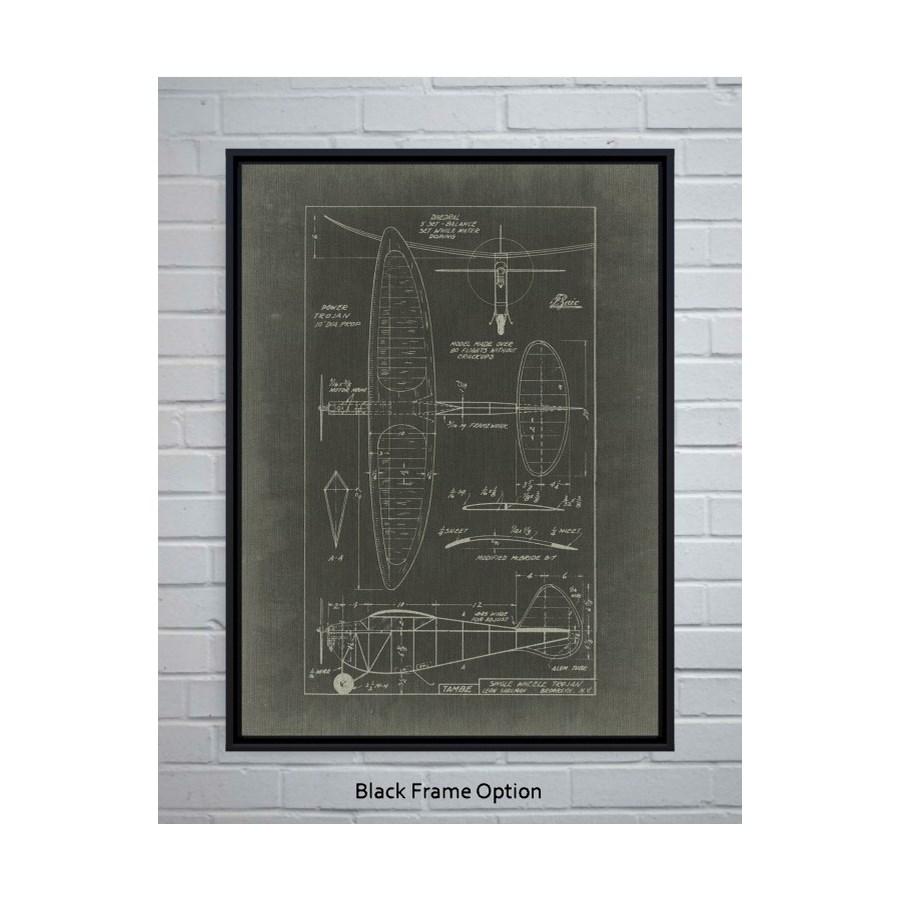 Aeronautic Blueprint I-Transportation and Travel