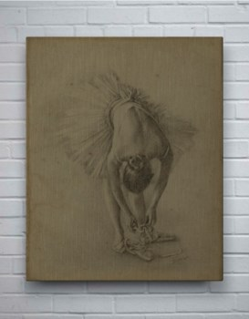 Antique Ballerina Study I-Fashion and Figurative