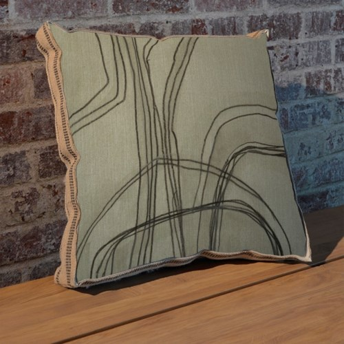 Abstract Logic IV pillow-Abstract