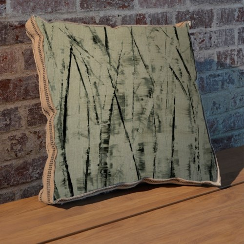 Birches II pillow-Botanical and Floral