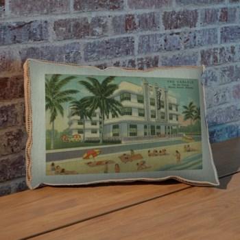 Miami Beach III pillow -Architecture