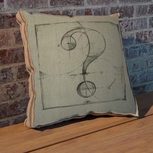 Drafting ? pillow-Decorative Elements