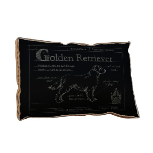 Blueprint Golden Retreiver black-Animals and Nature
