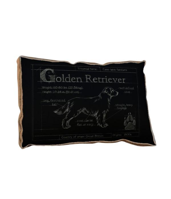 Blueprint Golden Retreiver black-Animals and Nature
