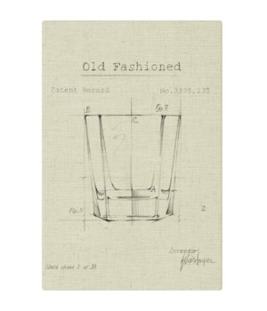 Barware Old Fashioned Glass natural