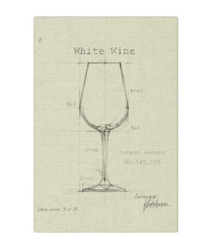 Barware White Wine natural