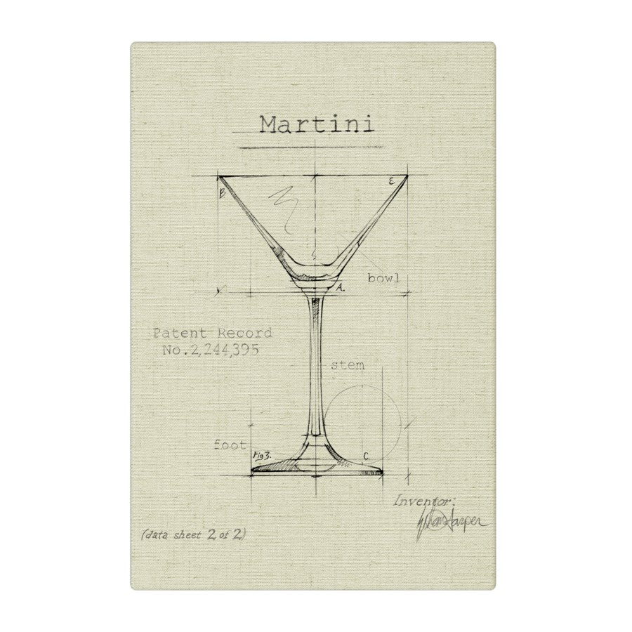 Barware Martini natural