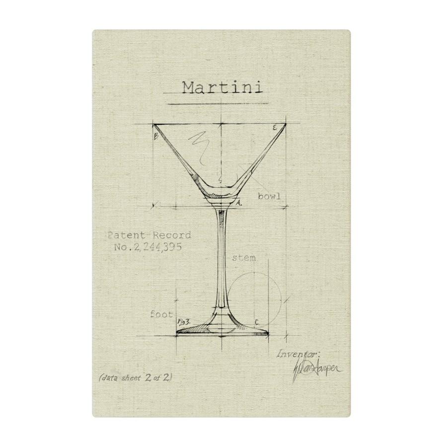 Barware Martini natural