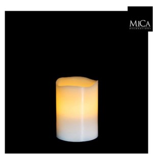 "Candle B/O 3x4""  White"