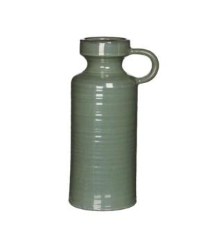 Stef jug round grey - h30,5xd16cm