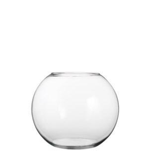 Babet vase ball glass - h20xd25cm