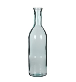 Rioja bottle transparent - h50xd15cm