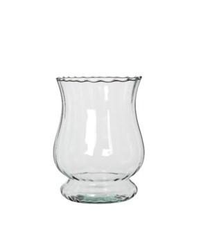 Nikki hurricane light transparent - h19xd14,5cm