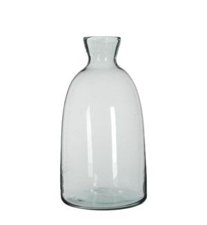 Florine bottle transparent - h44xd22cm