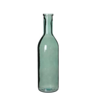 Rioja bottle glass grey - h50xd15cm