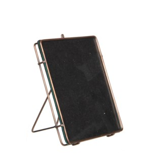 Lisan picture frame copper - l15xw18xh5cm