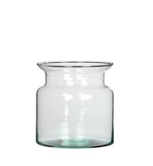 Mathew pot transparent - h15xd15cm