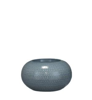 Gabriel bowl blue - h13xd23cm