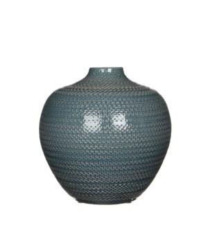 Gabriel bottle blue - h25xd26cm