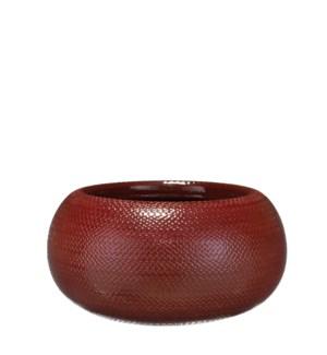Gabriel bowl bordeaux - h16xd32cm