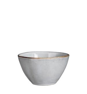 Tabo bowl grey - h6,5xd14cm