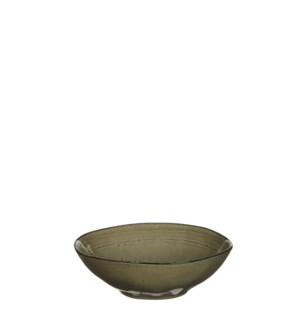 Tabo bowl cream - h6,5xd20cm