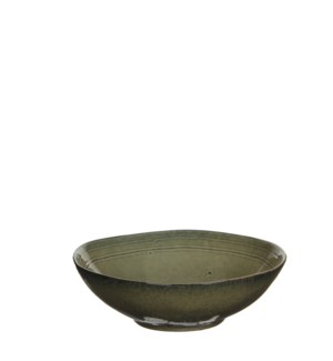 Tabo bowl cream - h7,5xd23,5cm