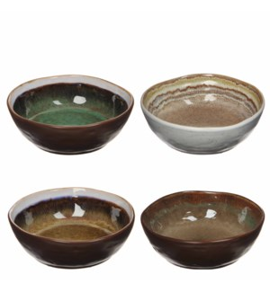 Todi bowl 4 assorted - h5,5xd14cm