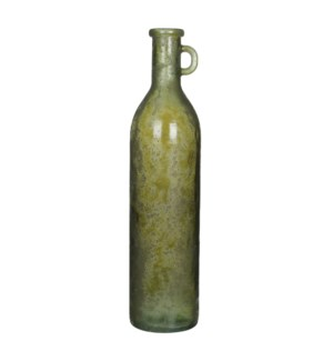 Rioja bottle glass green -h75xd18cm