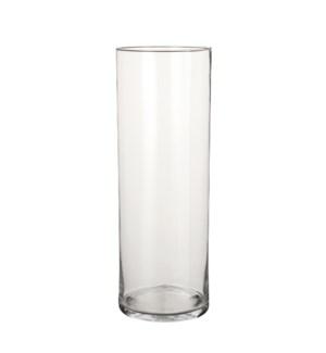 Dani vase cylinder glass - h55xd19cm