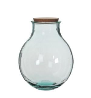 Olly vase transparent - h38xd29cm