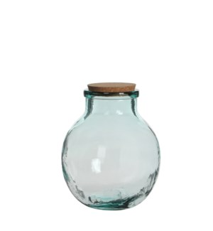 Olly vase transparent - h25xd21cm