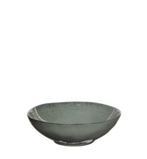 Tabo bowl grey - h7,5xd23,5cm