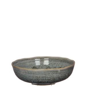 June bowl round grey - h7xd21,5cm