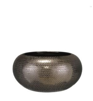 Gabriel bowl bronze - h16xd32cm