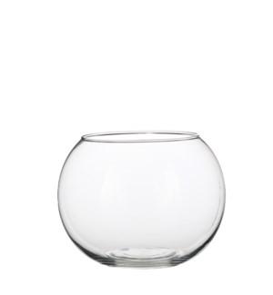 Bolla vase ball glass - h15,5xd20cm