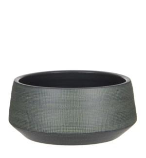 Guido bowl round d. green - h16xd35cm