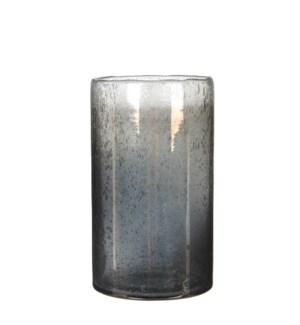 Elice vase glass d. grey - h25xd15,5cm