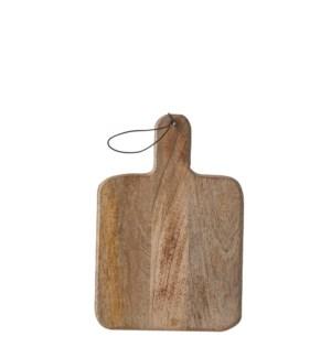 Duko chopping board square brown - l30xw20cm