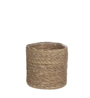 Atlantic basket l. brown - h20xd20cm