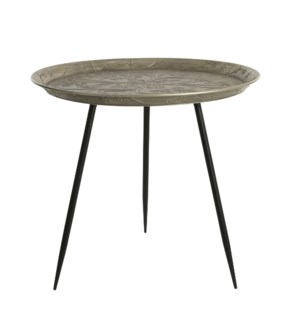 Side table l. gold - h57xd62cm