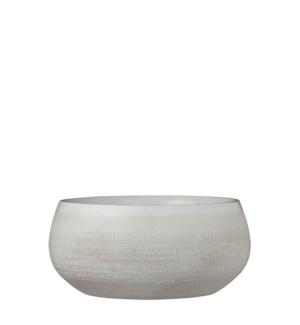Douro bowl round off white - h12xd26cm